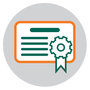 Engineering Certifications icon