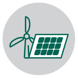 Wind Solar Project Management icon