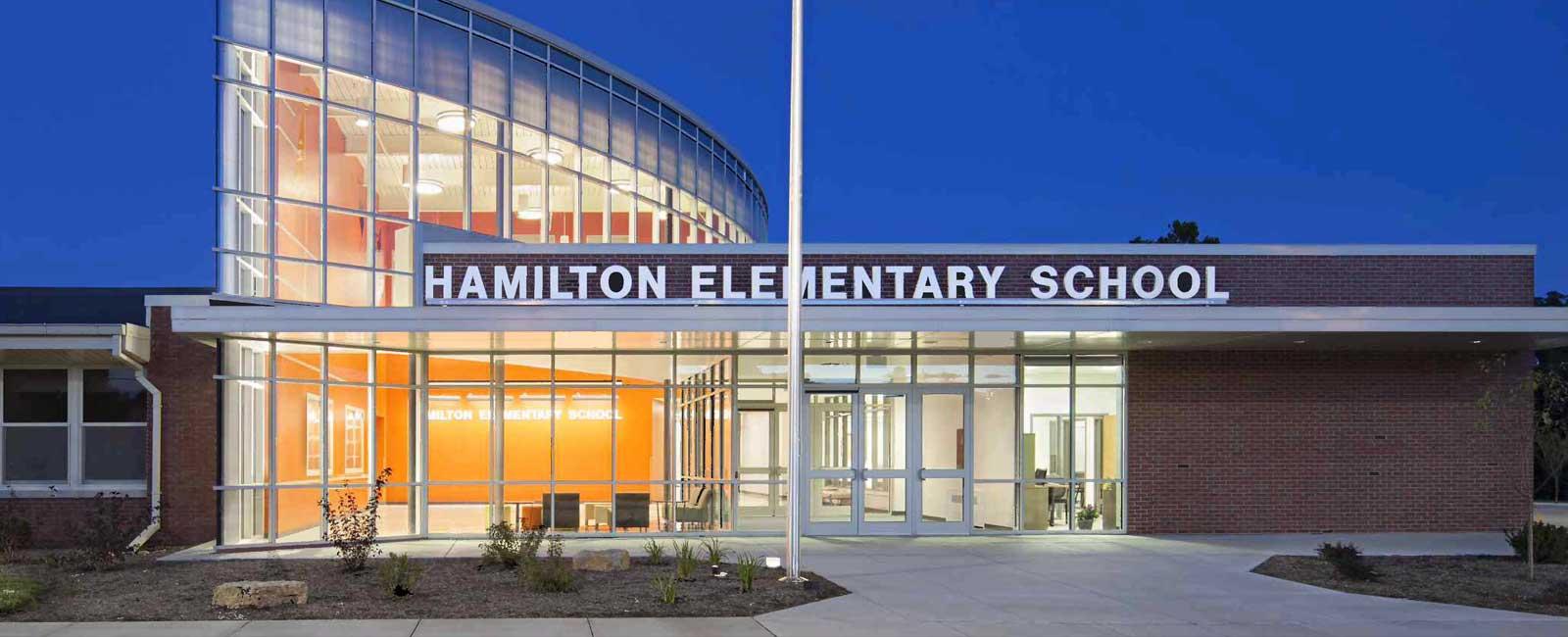 Hamilton Elementary School, Tri-City Electric Co., Davenport