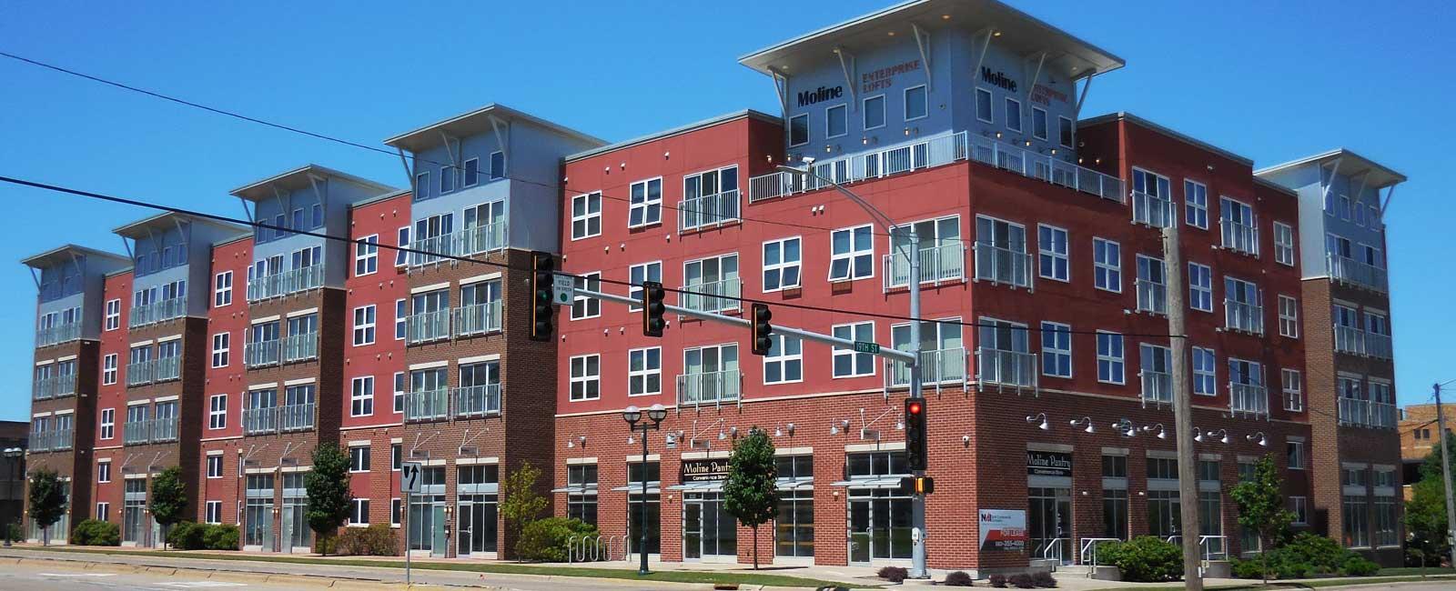 Moline Enterprise Lofts, Tri-City Electric Co., Davenport