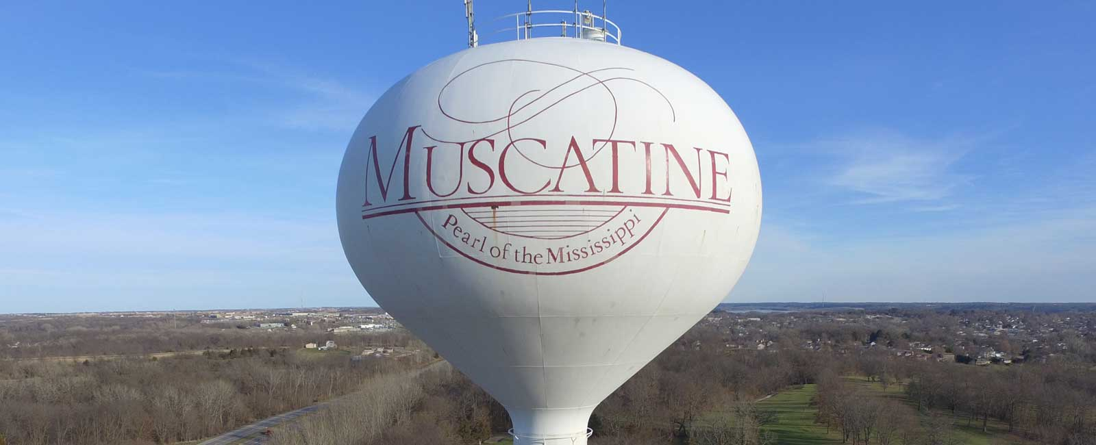 Muscatine Power & Water Tower