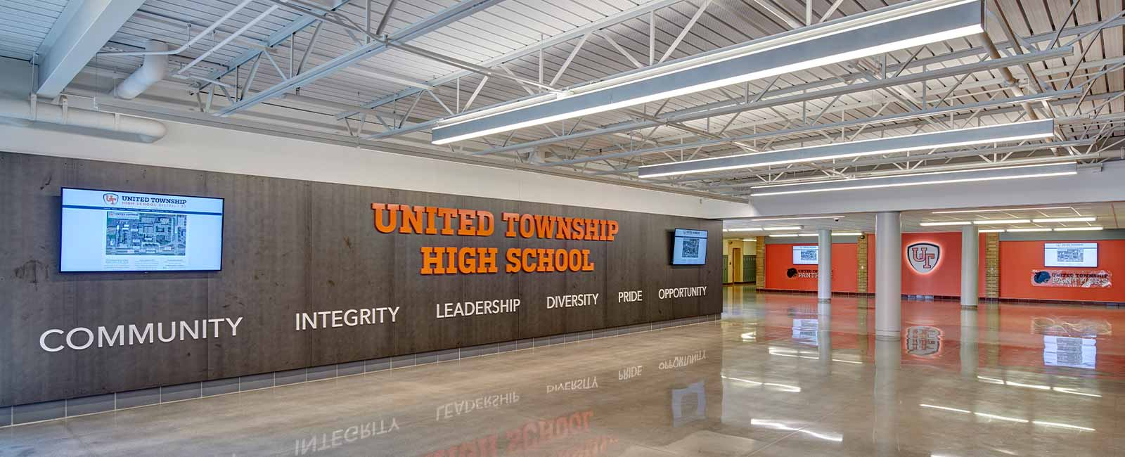United Township High School – Student Life Center