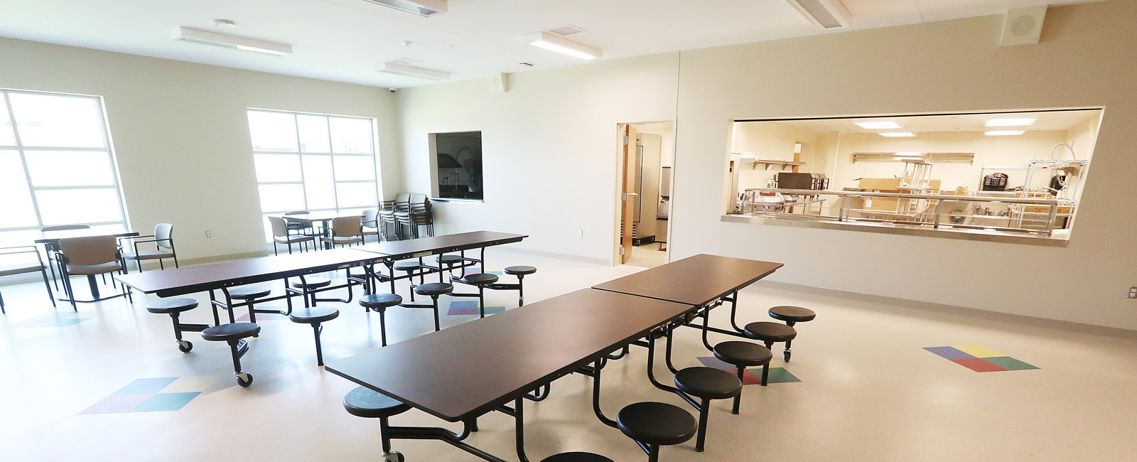 Eagle View Behavioral Health Facility Cafeteria