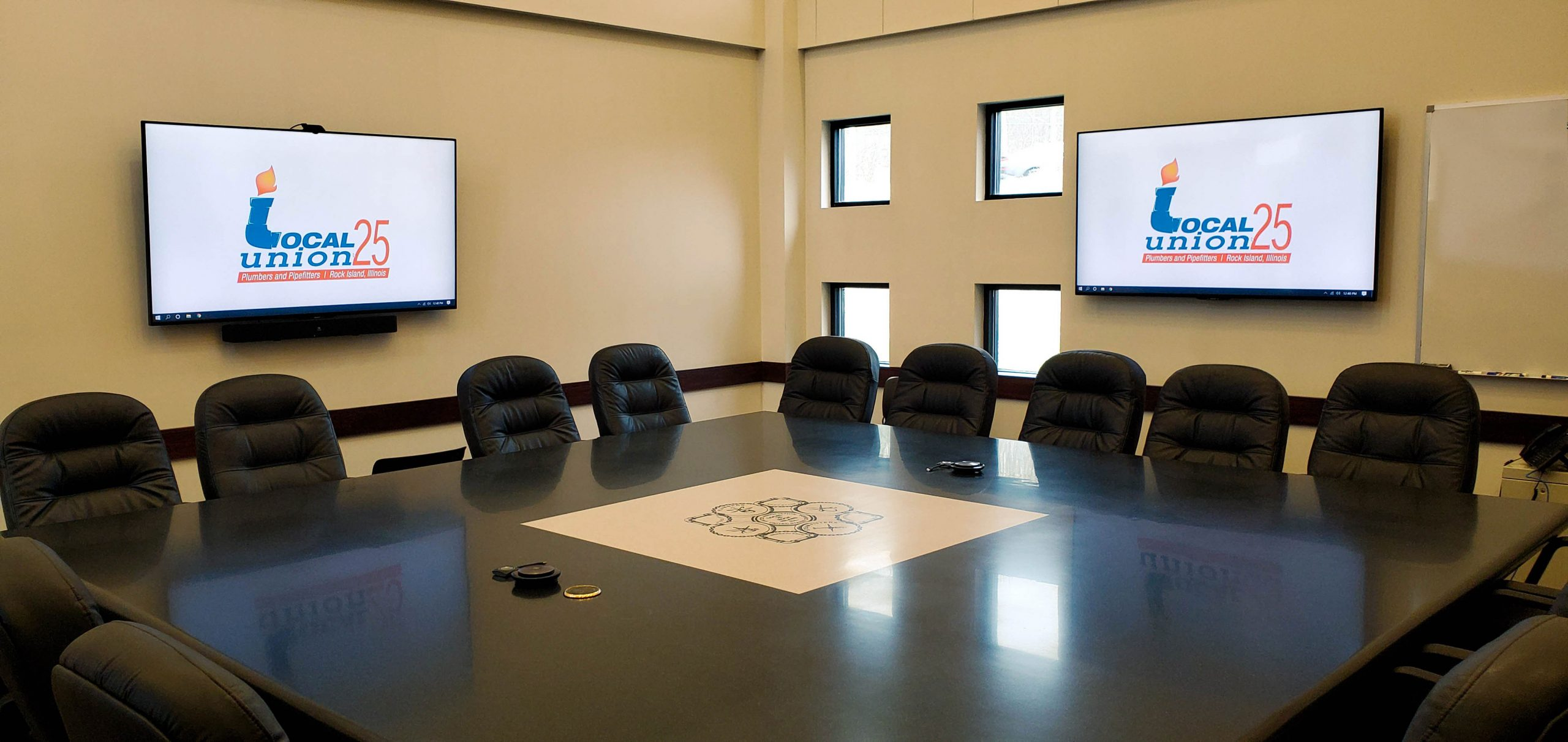 Local Union 25 - Plumbers & Pipefitters - Conference Room
