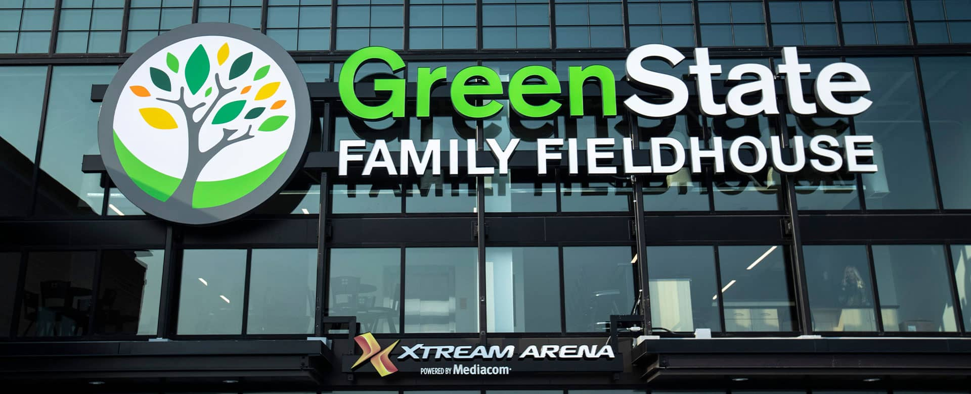 Xtream Arena and GreenState Family Fieldhouse