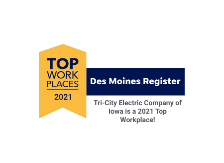 A winner of the Top Workplaces 2021 Award
